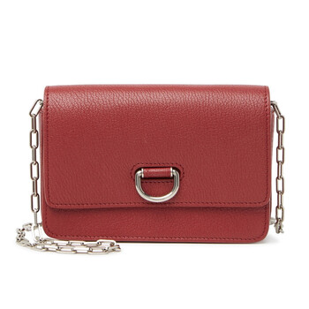 Burberry Crimson Mini Da D - ring Bag Chính hãng từ Mỹ