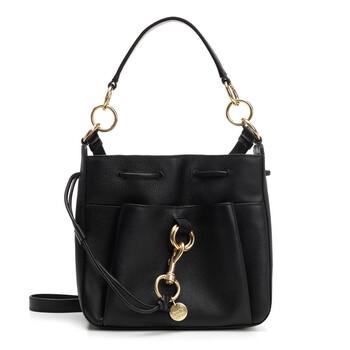 Chloe màu đen Da size trung Tony Bucket Bag Chính hãng từ Mỹ