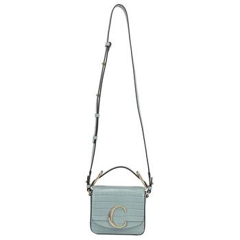 Chloe Faded màu xanh dương Mini Chloe C Bag Chính hãng từ Mỹ