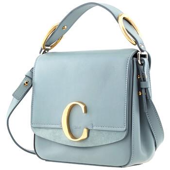 Chloe Faded màu xanh dương size nhỏ Chloe C Bag Chính hãng từ Mỹ