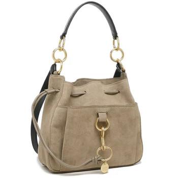 Chloe Grey size trung Tony Bucket Bag Chính hãng từ Mỹ