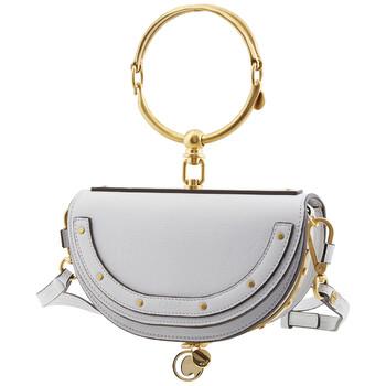 Chloe Nile màu xanh dương Nữ Nile Minaudière Bag Chính hãng từ Mỹ