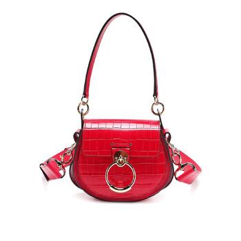 Chloe Crimson màu hồng size nhỏ Tess Túi đeo vai Chính hãng từ Mỹ