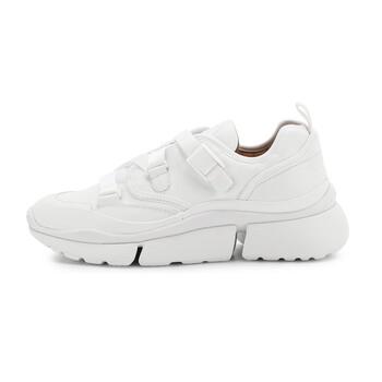 Giày Chloe nữ Sonnie Low Top Sneakers màu trắng chính hãng