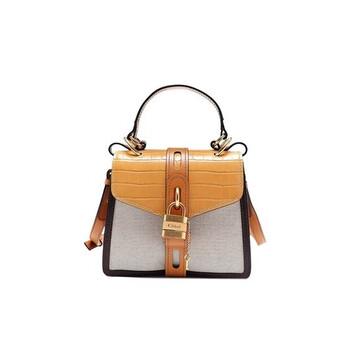 Chloe màu vàng Aby size nhỏ Bag Chính hãng từ Mỹ
