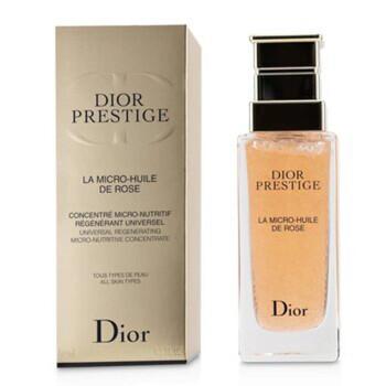 Mỹ phẩm chăm sóc da Christian Dior Dior Prestige La Micro-Huile De Rose Universal Regenerating Micro-Nutritive Concentrate 50ml/1.7oz chính hãng từ Mỹ US UK sale giá rẻ ở tại Hà nội TPHCM