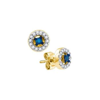 Trang sức Dazzling Rock Dazzlingrock Collection 0.25 Carat 10K Kim cương Thời trang Earings, Yellow Gold chính hãng sale giảm giá sỉ rẻ nhất ở Hà nội TPHCM