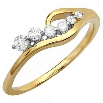 Trang sức Dazzling Rock Nữ Vàng 14K Silver-tone Nhẫn thời trang chính hãng sale giảm giá sỉ rẻ nhất ở Hà nội TPHCM