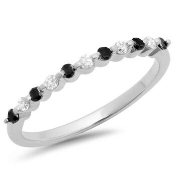 Trang sức Dazzling Rock Nữ Vàng trắng 10K Round Cut Silver-tone Nhẫn cưới chính hãng sale giảm giá sỉ rẻ nhất ở Hà nội TPHCM