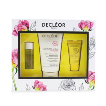 Mỹ phẩm chăm sóc da Decleor Certified Organic Soothing Box: Comfort 2 In 1 Cream & Mask 50ml+Comfort Oil-Serum 5ml+Comfort Night Balm 2.5ml 3pcs chính hãng từ Mỹ US UK sale giá rẻ ở tại Hà nội TPHCM