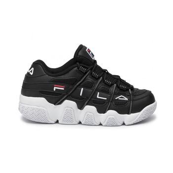 Giày Fila nữ Uproot màu đen / màu trắng / Fila màu đỏ Sneakers chính hãng