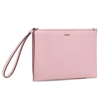 Furla Nữ Babylon Envelope Clutch Bag - Rosa Chiaro Chính hãng từ Mỹ