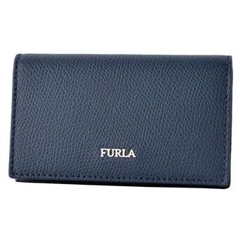 Furla Nam màu xanh dương Business Card Holder Chính hãng từ Mỹ