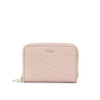 Furla màu hồng Mini Swing Purse Ví Chính hãng từ Mỹ