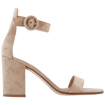 Giày Gianvito Rossi Block Heel Side Buckle Sandals chính hãng sale giá rẻ