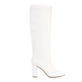 Giày Gianvito Rossi nữ màu trắng Boots chính hãng sale giá rẻ