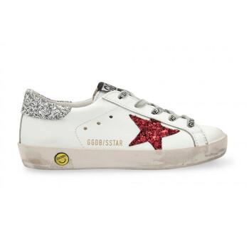 Giày Golden Goose Deluxe Brand Kids Superstar Sneakers chính hãng