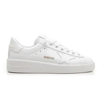 Giày Golden Goose Deluxe Brand Purestar màu trắng Sneakers chính hãng sale giá rẻ