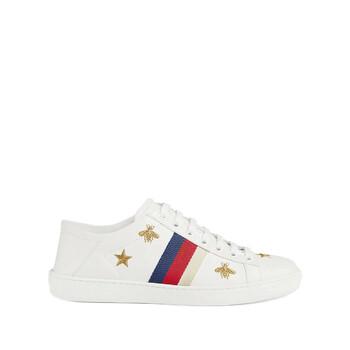 Giày Gucci Ace Sneaker With Bees And Stars chính hãng