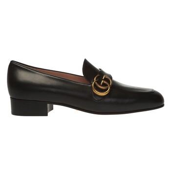 Giày Gucci Double G Leather Loafers chính hãng