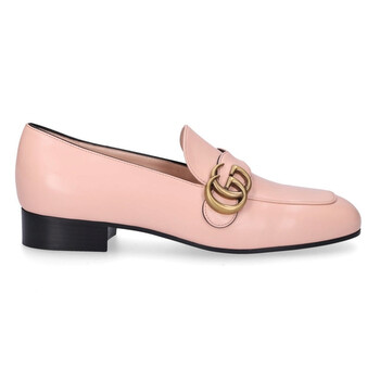 gucci double g leather loafers in pink 602496 c9d00 5909