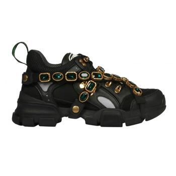 Giày Gucci Flashtrek Sneaker with Removable Crystals chính hãng