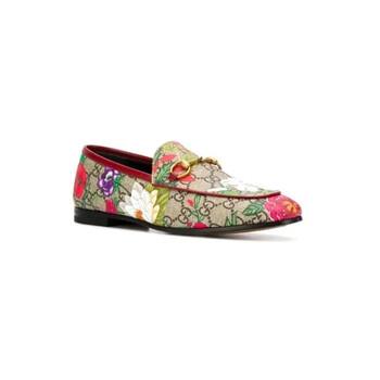 Giày Gucci Flora GG Supreme Loafers chính hãng