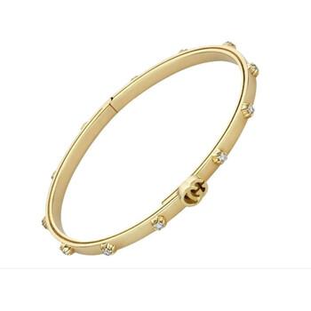 Trang sức Gucci GG Running Kim cương Vòng đeo tay Size 17 chính hãng sale giá rẻ Hà nội TPHCM