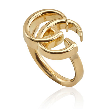 Trang sức Gucci GG Running Yellow Gold Nhẫn- Brand Size 11 (5 3/4 US) chính hãng sale giá rẻ Hà nội TPHCM