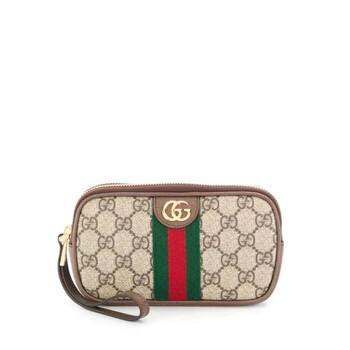 Gucci GG Web Make - Up Bag Chính hãng từ Mỹ