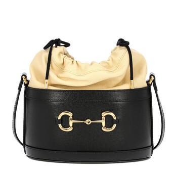 Gucci 1955 Horsebit Túi đeo vai màu đen Da Chính hãng từ Mỹ