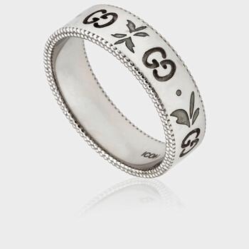 Trang sức Gucci Icon Blossom Nhẫn- Brand Size 18 (8 1/4US) chính hãng sale giá rẻ Hà nội TPHCM