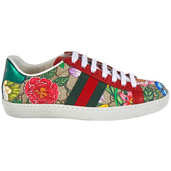 gucci ladies ace gg flora sneakers 433900 ht520 8490
