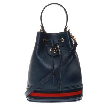 Gucci Nữ Ophidia Da Bucket Bag màu xanh dương chính hãng đang sale giảm giá ở Hà nội TPHCM