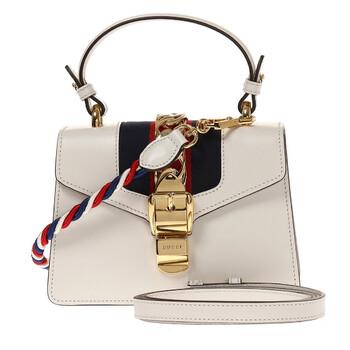 Gucci Nữ Sylvie Da Túi size mini - màu trắng chính hãng đang sale giảm giá ở Hà nội TPHCM