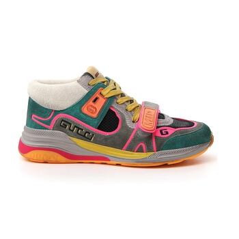 Giày Gucci nữ Ultrapace Mid-Top Sneakers chính hãng sale giá rẻ