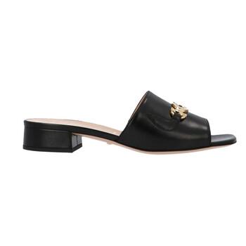 Giày Gucci nữ Zumi Leather Slide Sandals chính hãng