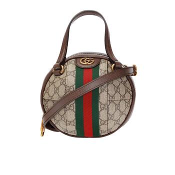 Gucci Ophidia Brown GG Mini Túi đeo vai Chính hãng từ Mỹ