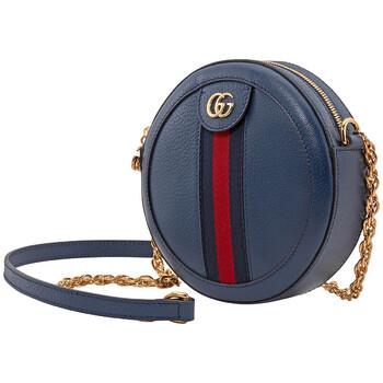 Gucci Ophidia Mini Round Túi đeo vai màu xanh dương chính hãng đang sale giảm giá ở Hà nội TPHCM