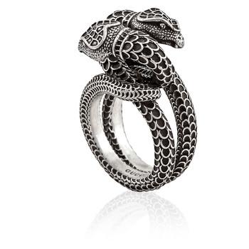 Trang sức Gucci Garden Snake Nhẫn- Brand Size 14 (6 3/4 US) chính hãng sale giá rẻ Hà nội TPHCM