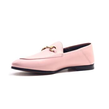 Giày Gucci nữ Leather Horsebit Loafers chính hãng sale giá rẻ
