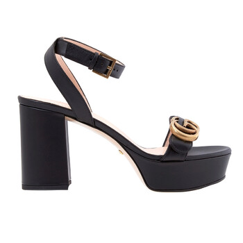 Giày Gucci Platform Sandal With Double G chính hãng