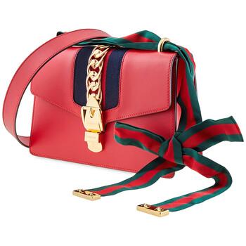 Gucci Da Sylvie size nhỏ Túi đeo vai - Hibiscus màu đỏ Chính hãng từ Mỹ
