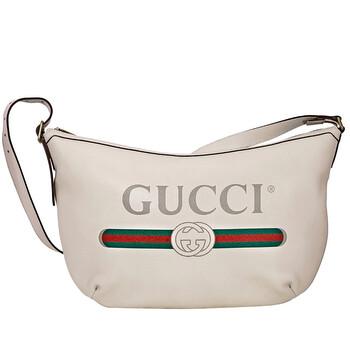 Gucci Túi đeo vai With Logo Print màu trắng Chính hãng từ Mỹ
