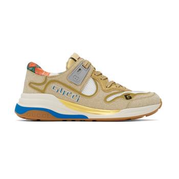 Giày Gucci Ultrapace Glitter-Effect Sneakers chính hãng