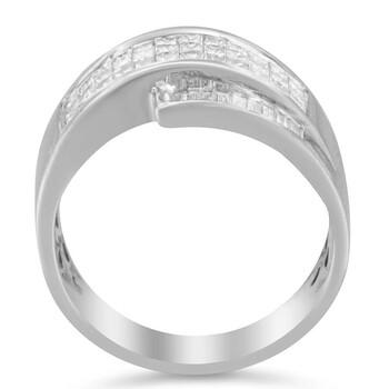 Trang sức Haus Of Brilliance Vàng trắng 14K 1ct TDW Kim cương Nhẫn (H-I