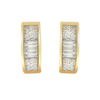 Trang sức Haus Of Brilliance Vàng 14K 1/4ct TDW Kim cương Bông tai (khuyên tai