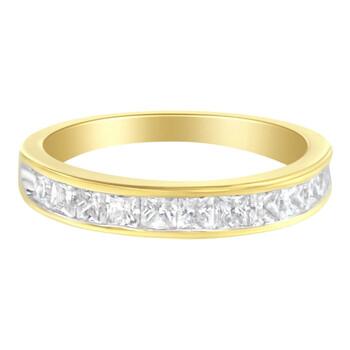 Trang sức Haus Of Brilliance Vàng 14K 1ct. TDW Kim cương Channel Band Nhẫn (H-I