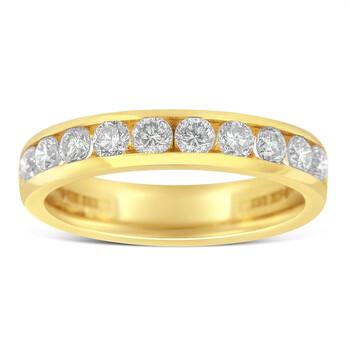 Trang sức Haus Of Brilliance Vàng 18K 1ct TDW Kim cương Wedding Band Nhẫn (H-I
