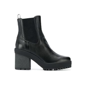 Giày Hogan Block Heel H475 Ankle Boots, Brand Size 36.5 (US Size 6.5) chính hãng sale giá rẻ